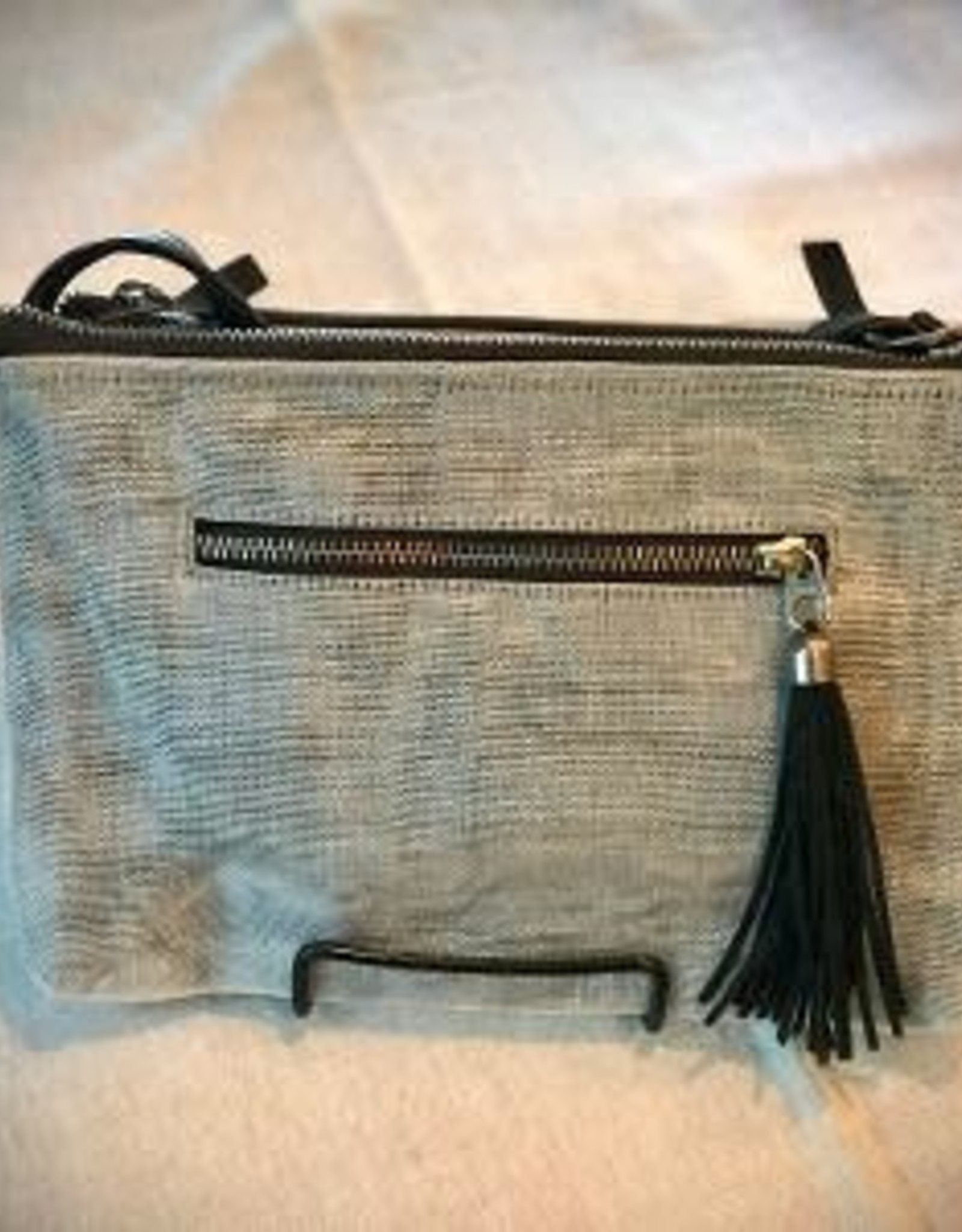 Nearby Shoulder Bag, GRAY, Cambodia