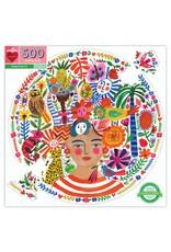 Positivity Round Puzzle, 500 pieces