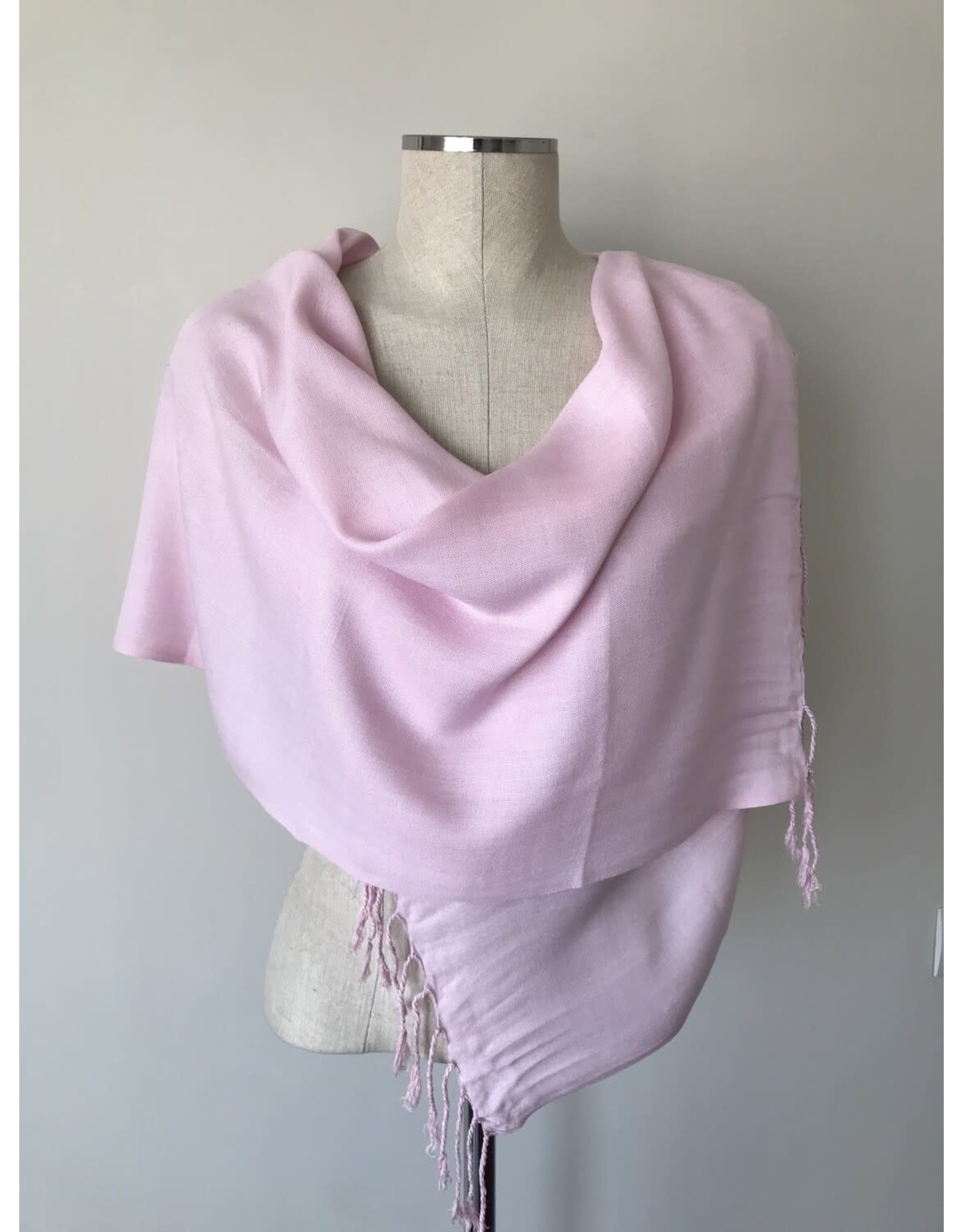 Egyptian Scarf Solid Straight Pinks