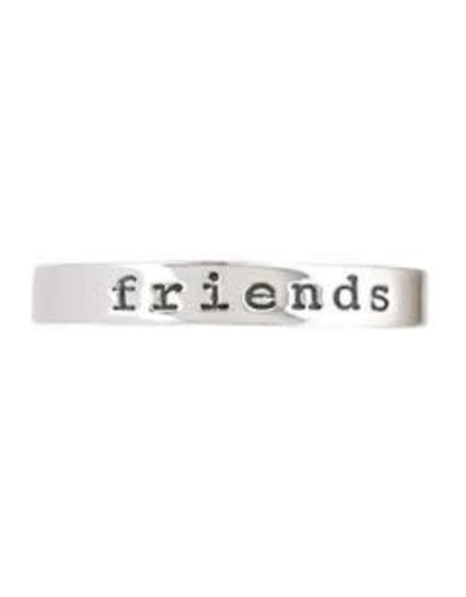 Sterling Friends Ring