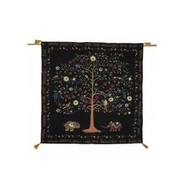 Dream Tree Wall Hanging w/ Bamboo Hanger