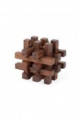 Indian Rosewood Block Puzzle-Cube