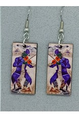 Chagall, Dangle, VIOLINIST