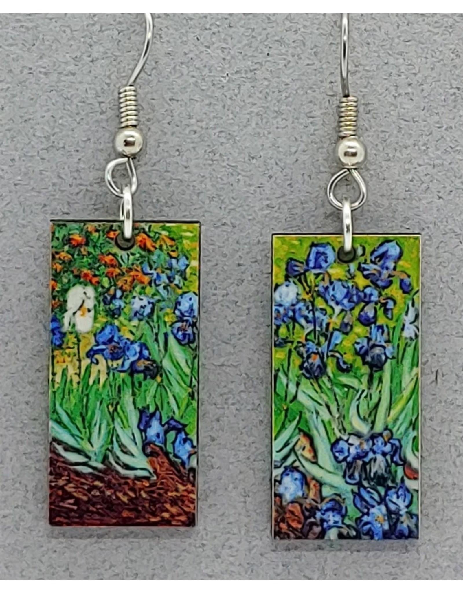 Van Gogh, Dangle, IRISES