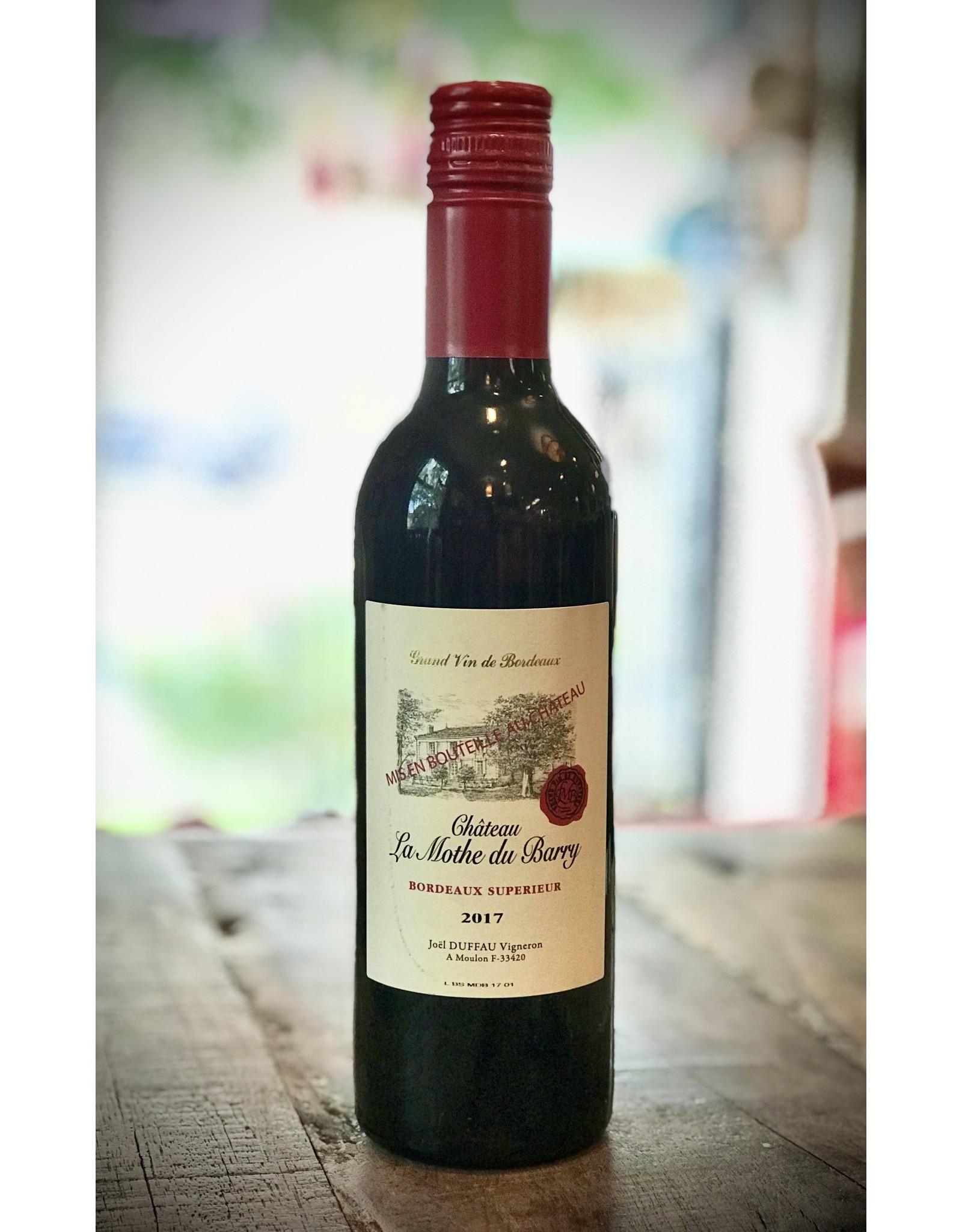 Chateau La Moth du Barry, BORDEAUX, (100% Merlot)  1/2 Bottle