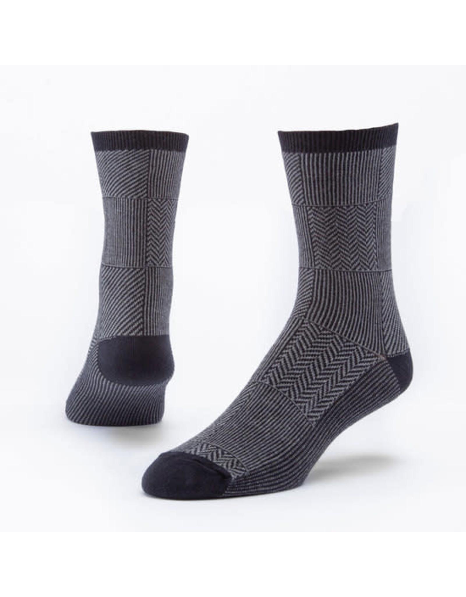 Trouser Socks, Black/Gray