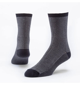 Trouser Socks, Black/Gray