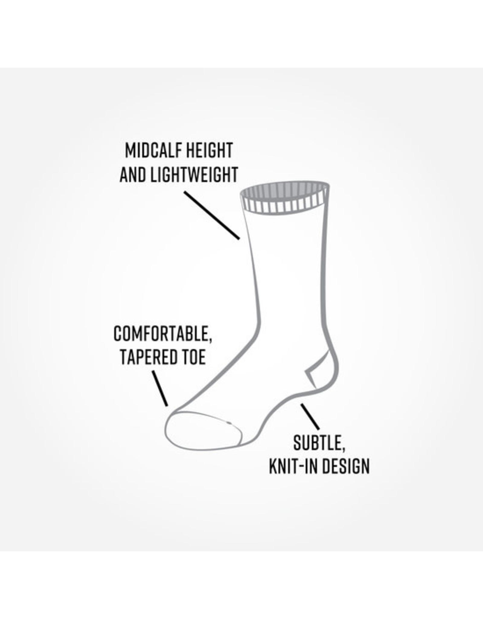 Bee Keeper Trouser Socks, Black/Gray