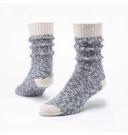 Cotton Ragg Socks, Navy