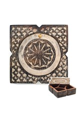Antique Pivot Box, Square