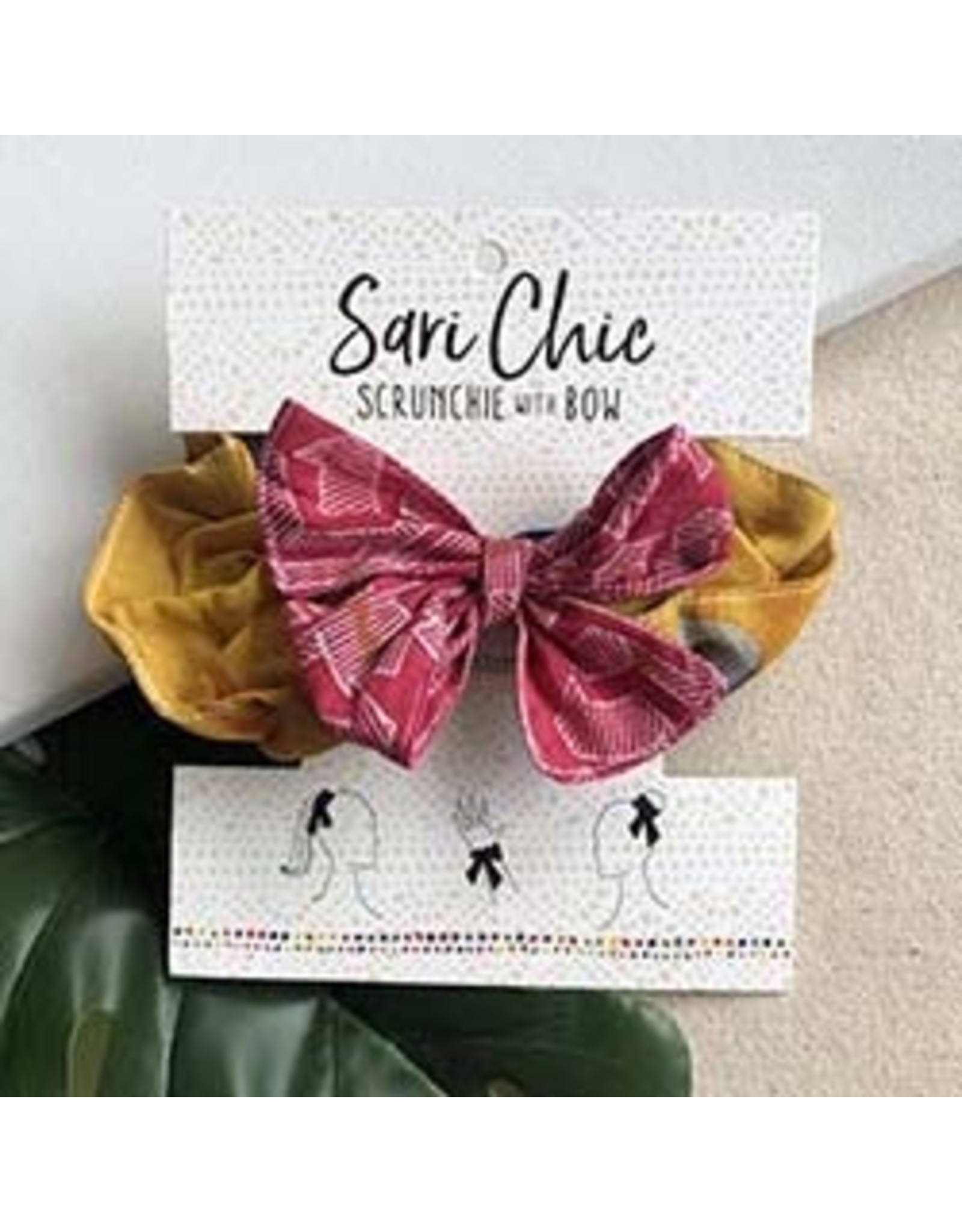 Scrunchie with Bow, India