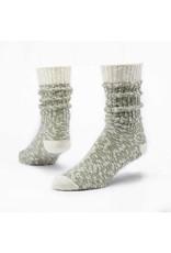 Cotton Ragg Socks, Olive