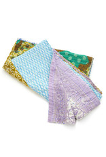 Kantha Patchwork Multi Throw 74x40