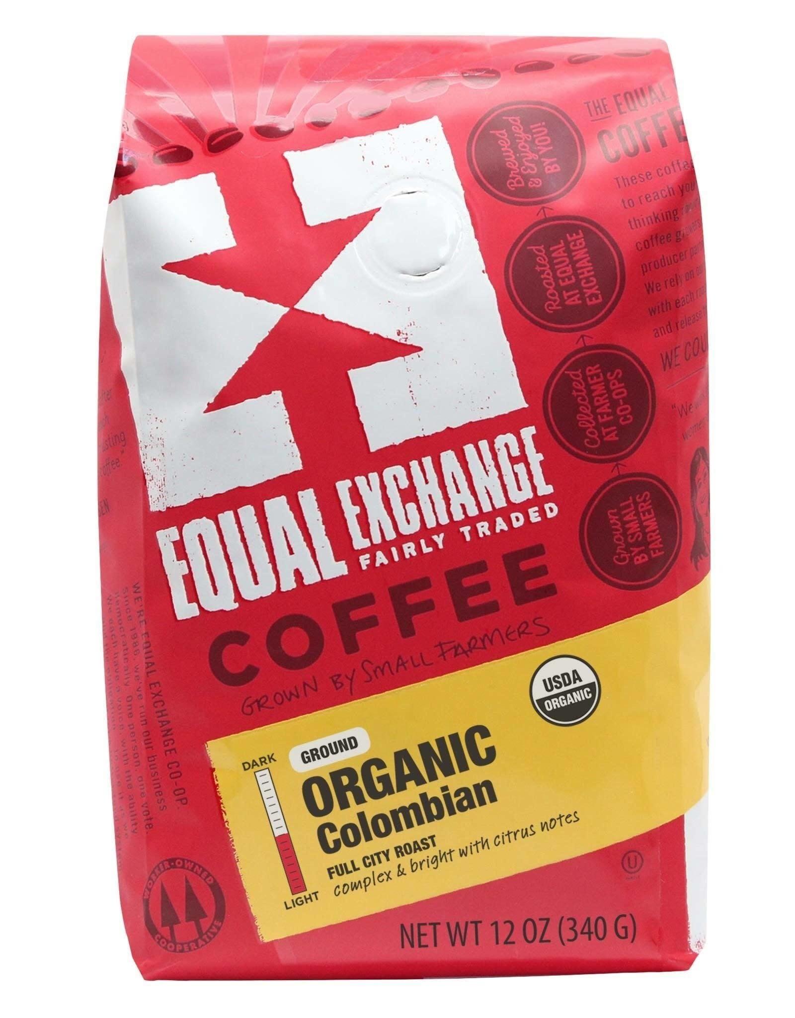 Organic Colombian Coffee, 12 oz, Ground