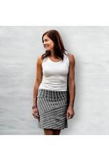 A Line, Organic Cotton Skirt, Black Birch