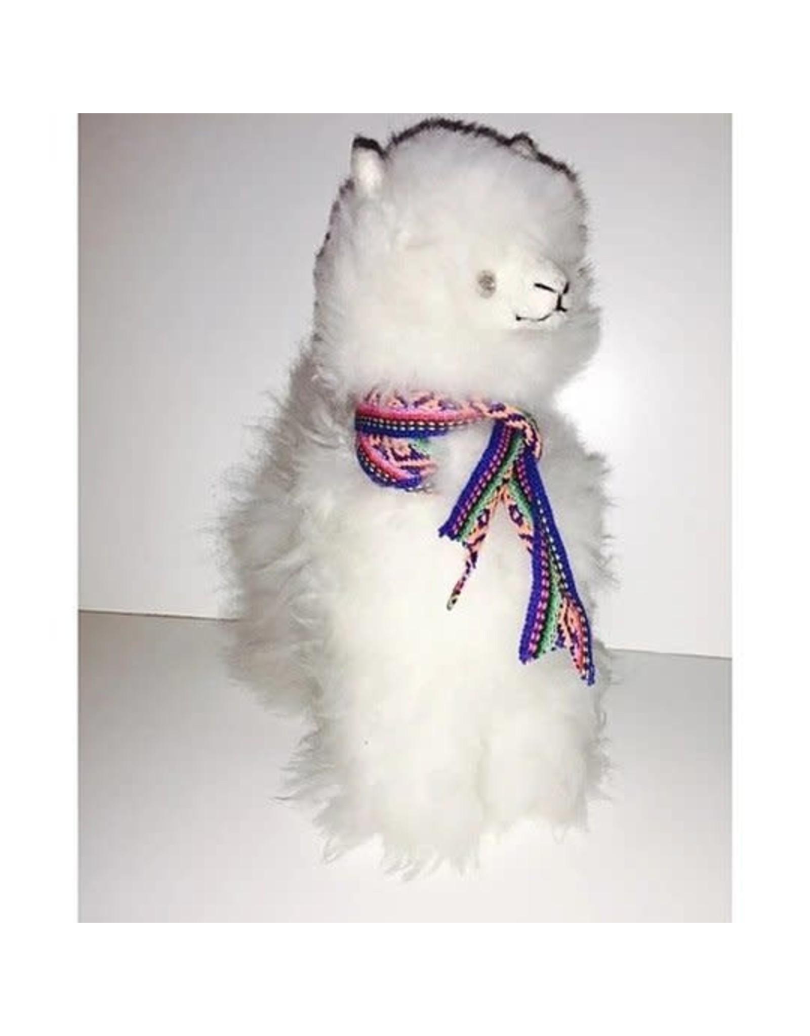 "Alpaca Fur Animal, Alpaca, Large  (10""), Peru"