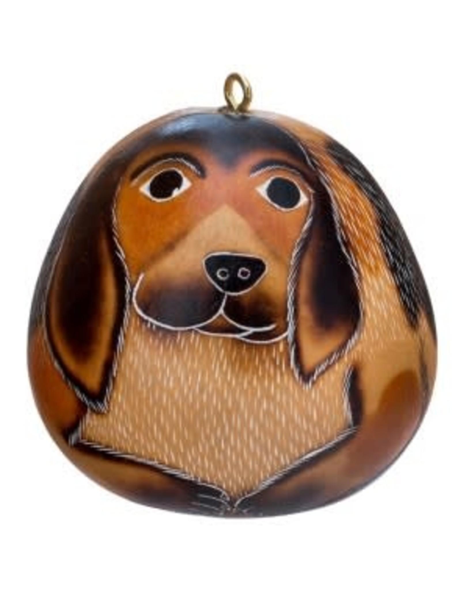 Dog Gourd Ornament, Peru