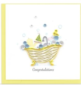 Baby Tub, Quilling Card, Vietnam