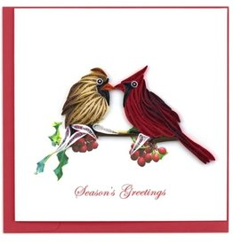 Season's Greetings Cardinal Quill