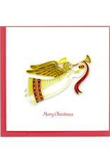 Christmas Angel Quilling Card