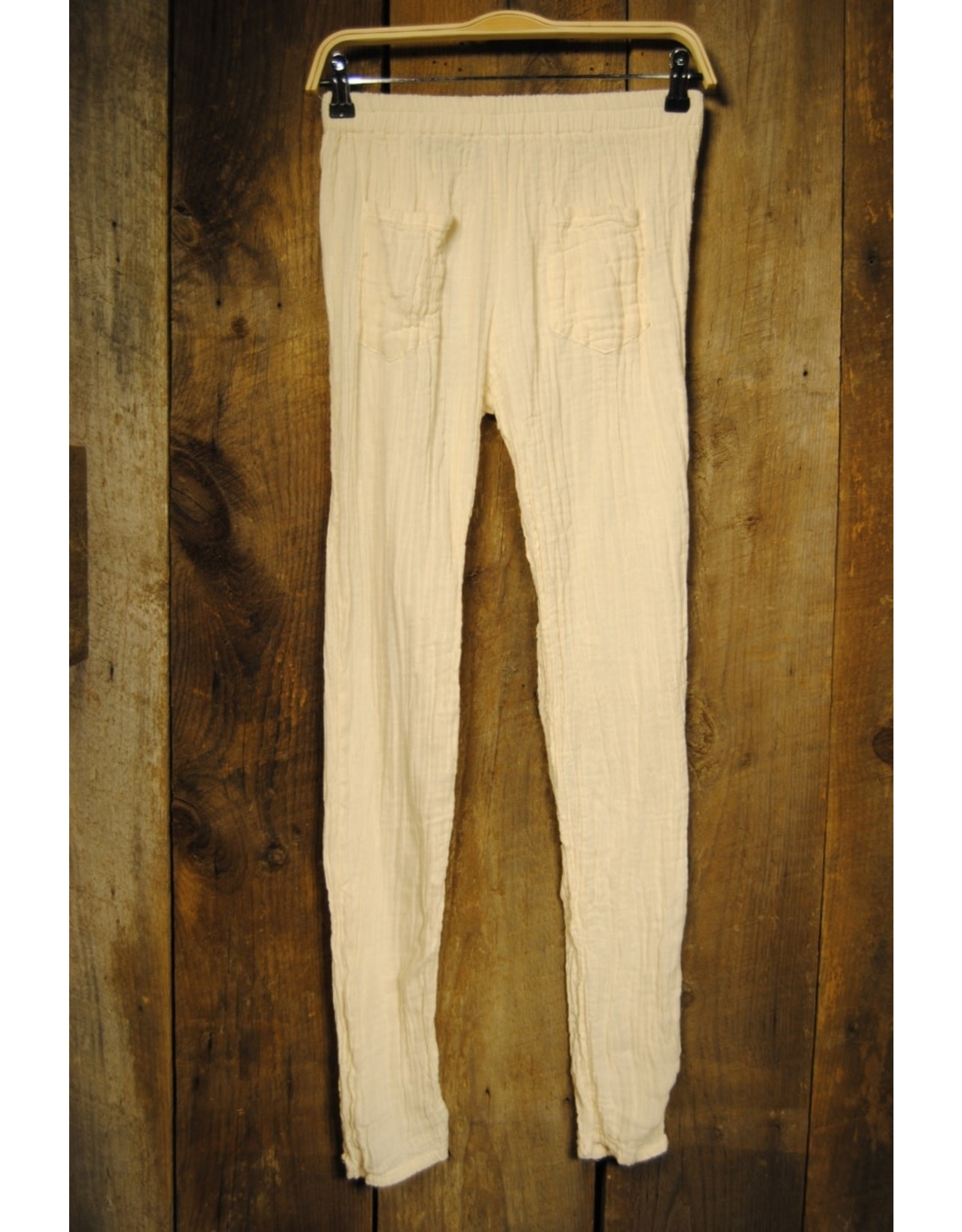 Double Cotton Leggings, Natural L/XL, Thailand