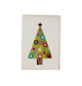 Sparkling Tree Greeting Card