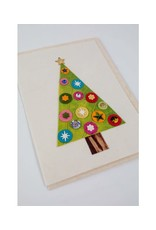 Sparkling Tree Greeting Card