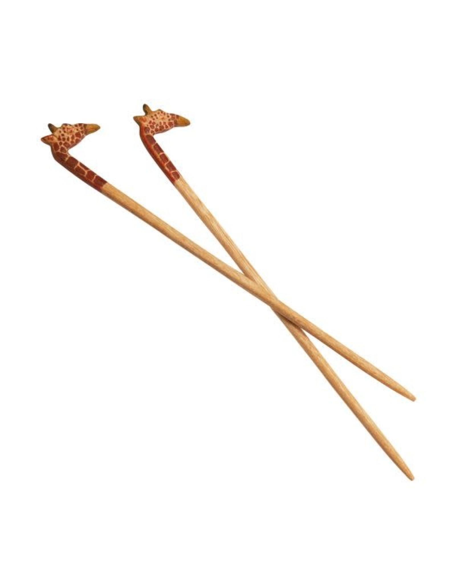 Giraffe Chopstick Pair