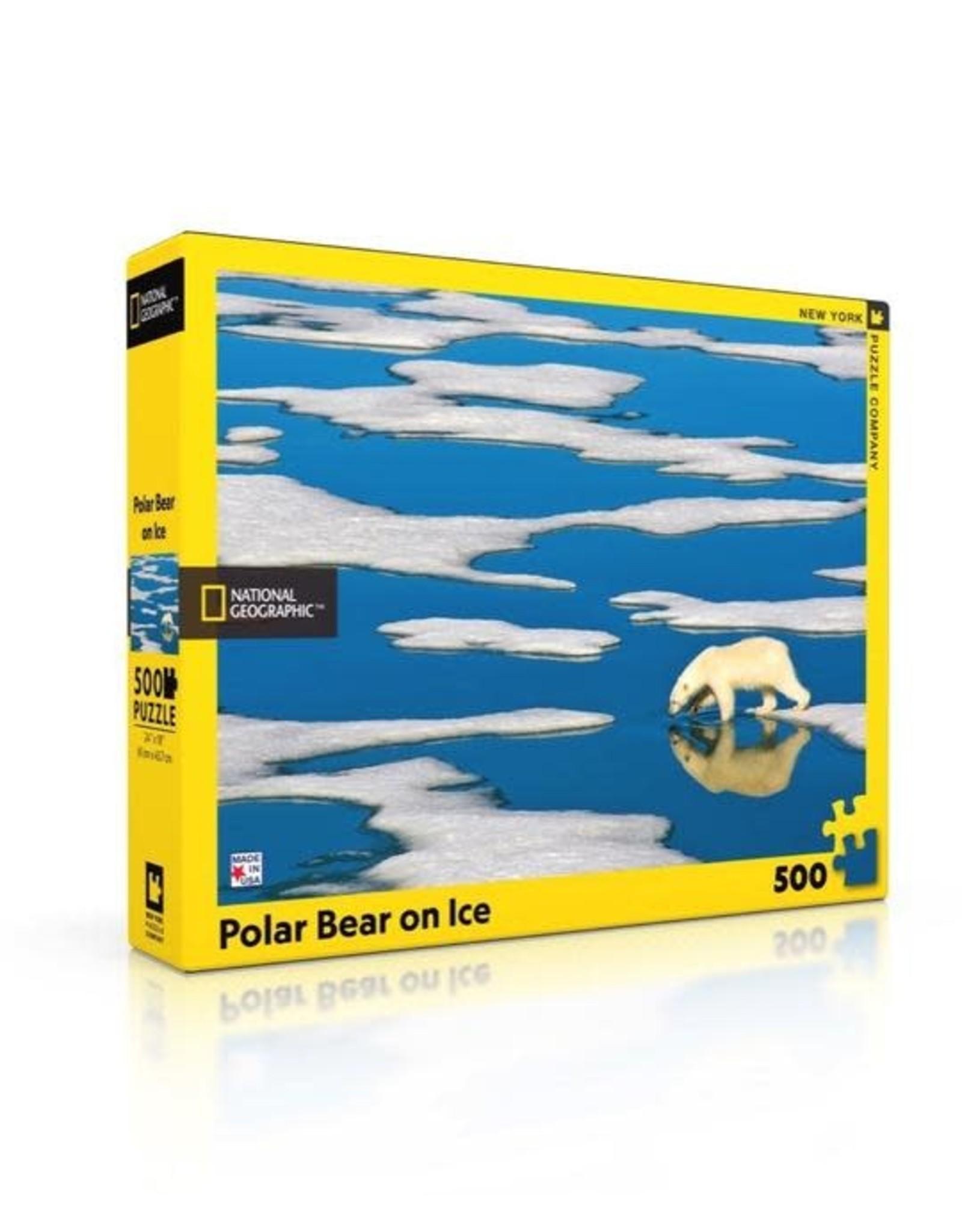 Polar Bear on Ice Puzzle, 500 pieces