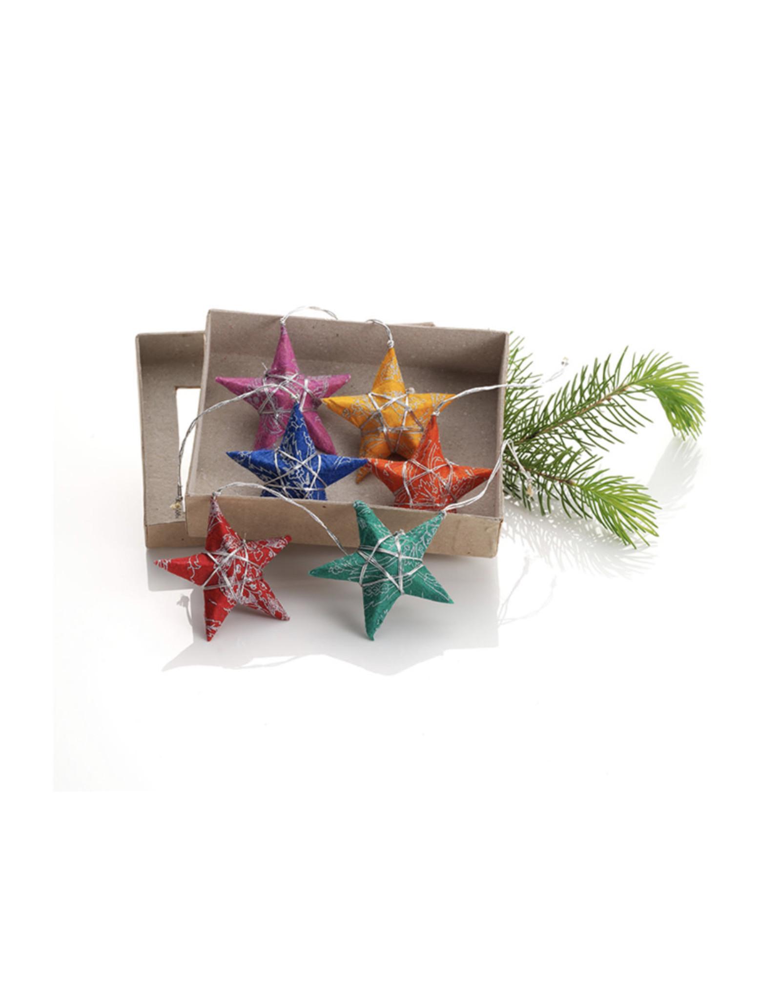 Wishing Star Paper Ornament, Bangladesh