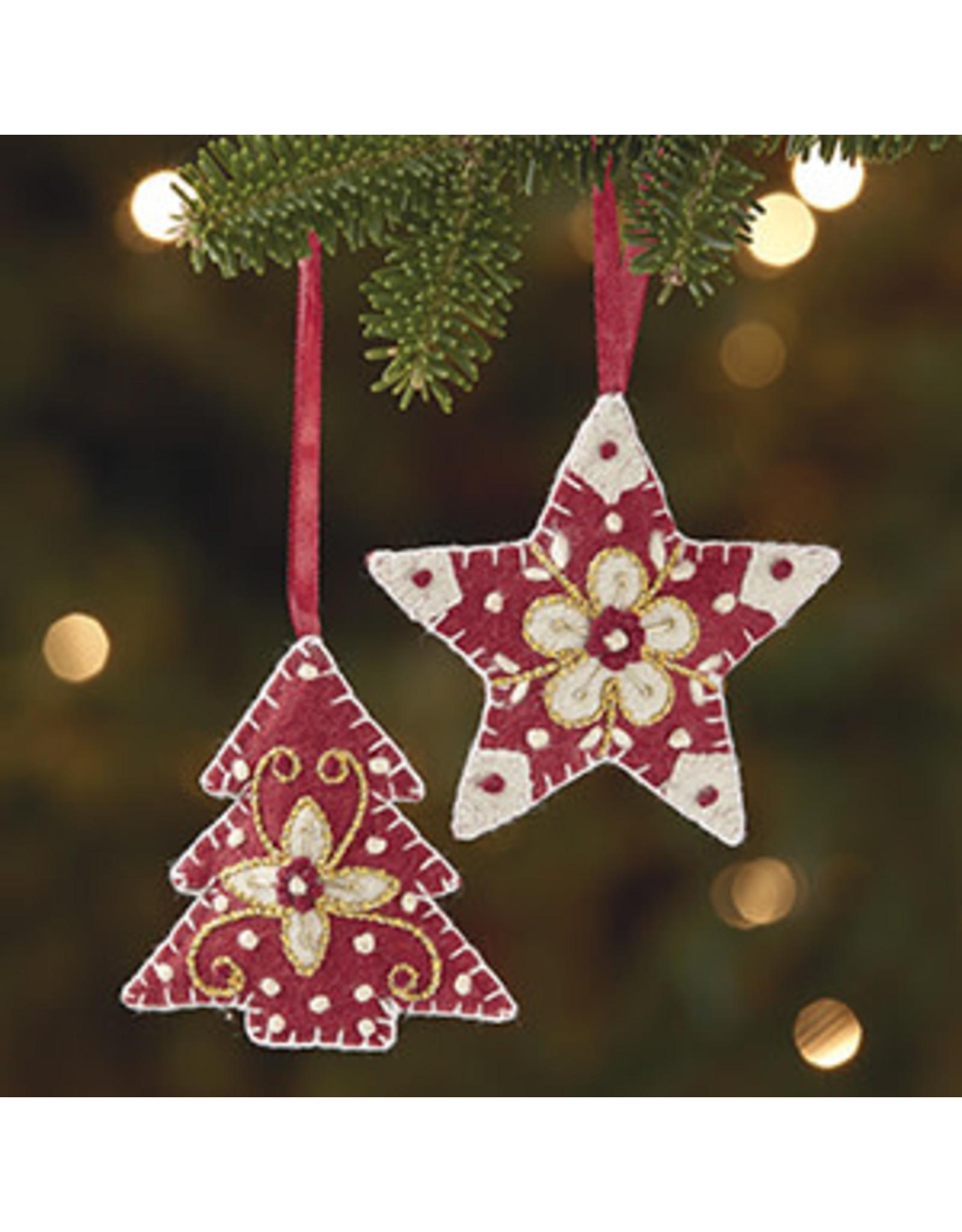 WOOL Ornament Star, India