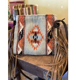 Mints and Diamonds Palomita Fringe Bag, Mexico
