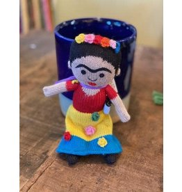 Stuffed Toy Frida Kahlo, 100% Alpaca