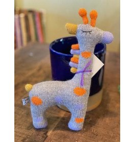 Stuffed Toy Giraffe, 100% Alpaca