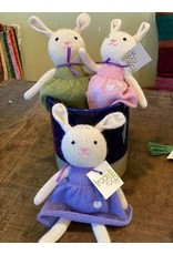Stuffed Toy Bunny Rabbit, 100% Alpaca
