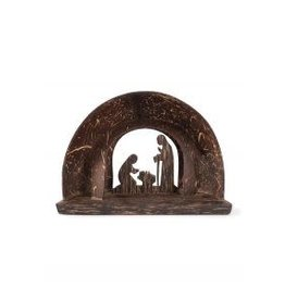 Coconut Shell Nativity, Cambodia