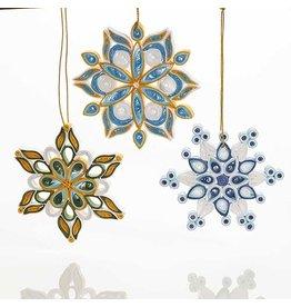Quilled Snowflake Ornament, INDIVIDUAL Vietnam
