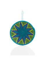 Mozani Star Sisal Basket Ornament, Eswatini