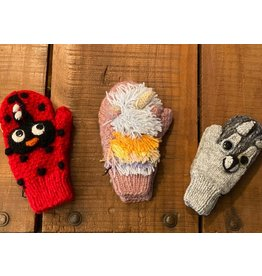 Kids Animal Mittens