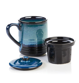 Lak Lake Ceramic Tea Infuser Mug, Vietnam