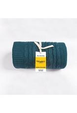 Organic Cotton Cable Stitch Throw