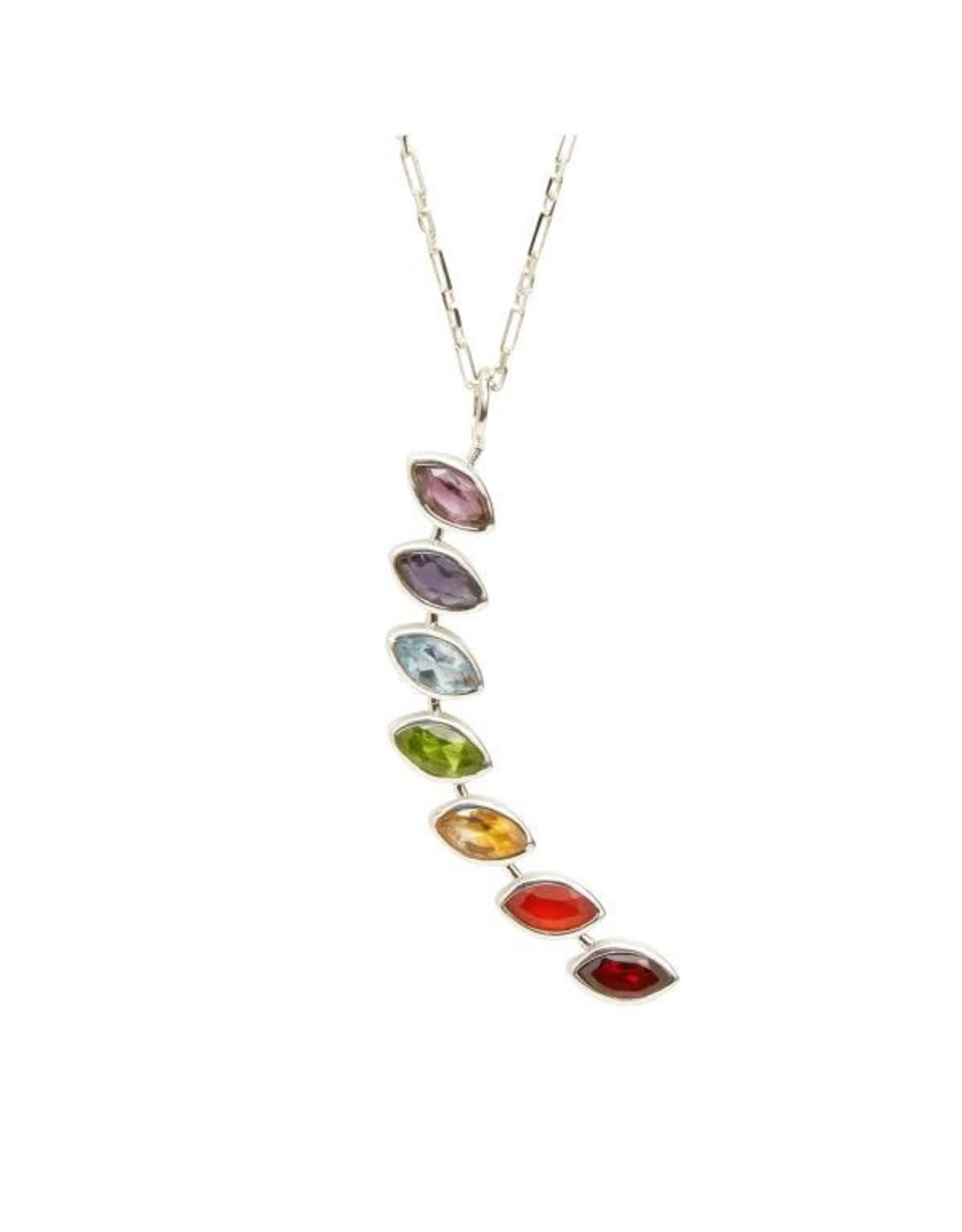 Chakra Stone Necklace, India