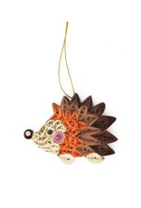 Quilled Hedgehog Ornament, Vietnam