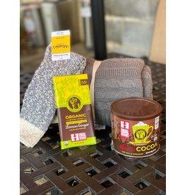 Cozy Gift Bundle w/ Dark Chocolate Cocoa