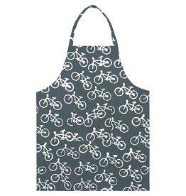 Reversible Apron, Bikes Charcoal