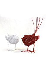 Wire Wrapped Love Birds, Set of 2