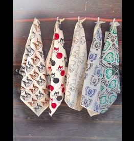 Cotton Dishtowel, Varied Patterns