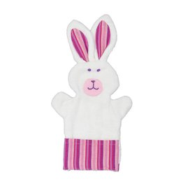 Bunny Puppet Baby Washcloth