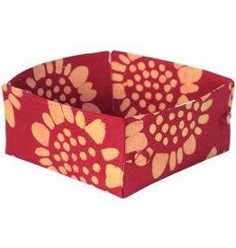 Button Basket, Sunflower, Large