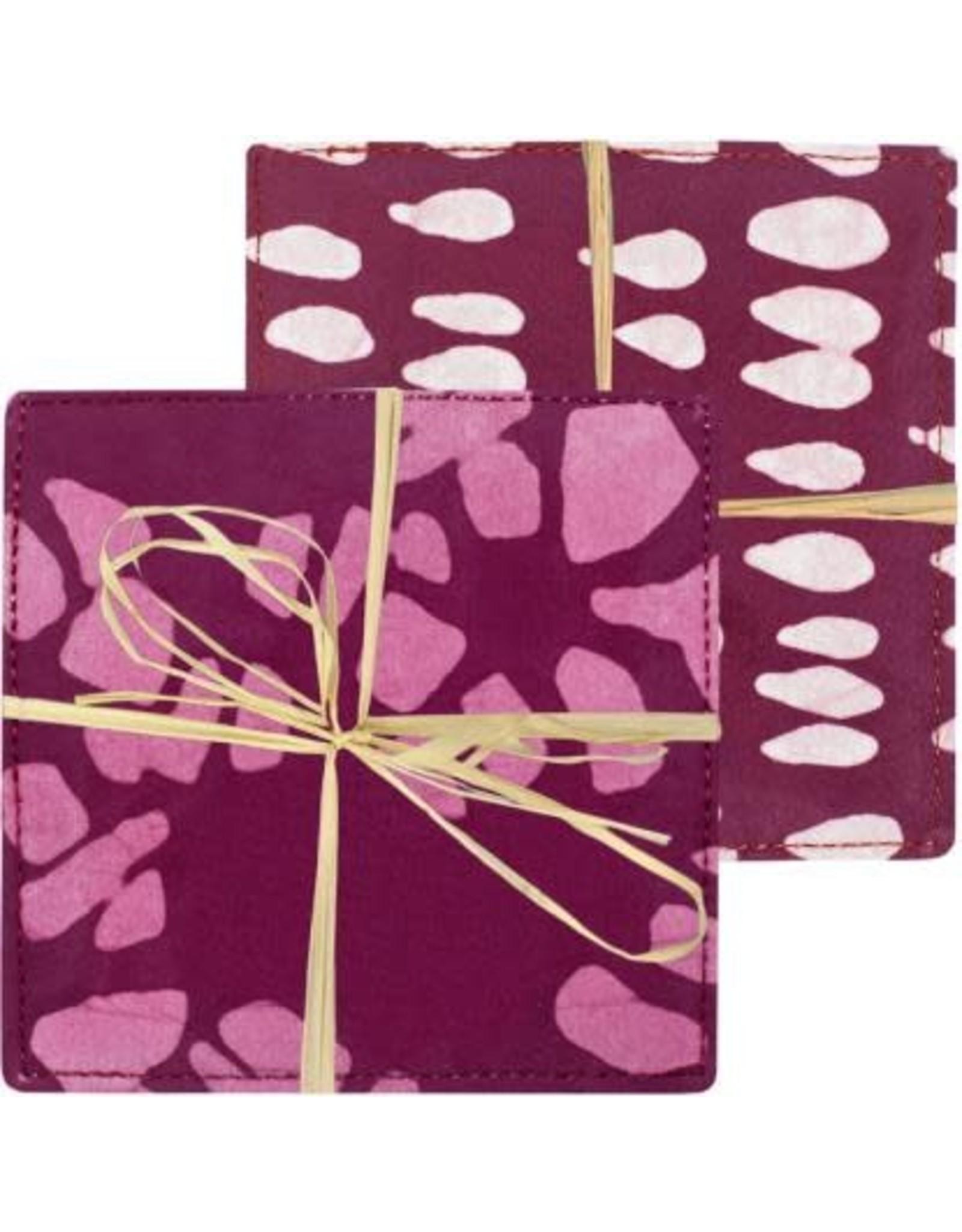 Batiked Coasters,